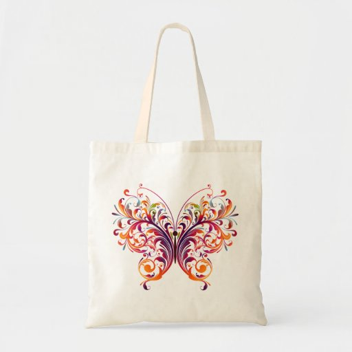 Beautiful Abstract Butterfly Bag