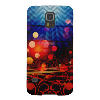 Beautiful Abstract Chevron Light Rays Design Galaxy S5 Cover