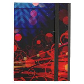Beautiful Abstract Chevron Light Rays Design iPad Case