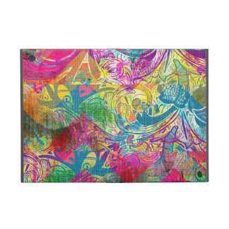 Beautiful Abstract Colorful Floral Swirls Flourish iPad Mini Case