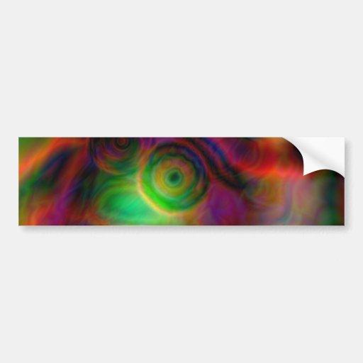 Beautiful abstract design bumper sticker
