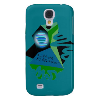 Beautiful Abstract Design on Samsung Galaxy S4 Cas Samsung S4 Case
