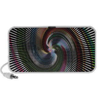 Beautiful Abstract Digital Art -Out Of Control Mini Speaker