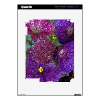 Beautiful Abstract Flowers iPad 3 Skin