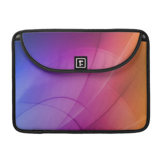 Beautiful Abstract Rainbow Sleeves For MacBooks