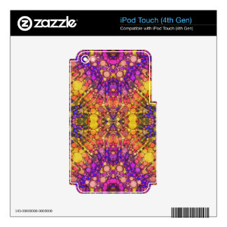 Beautiful Abstract iPod Touch 4G Decal