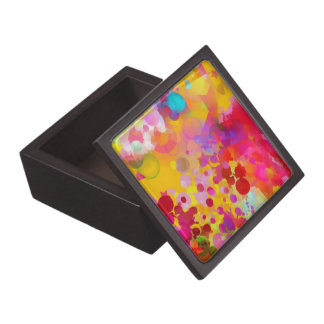 Beautiful Abstract Splashes Gift Box