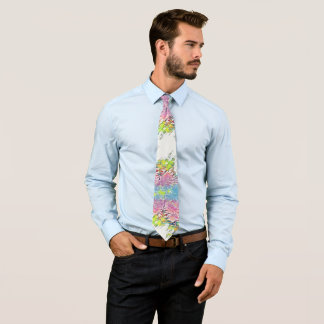 Beautiful Abstract Trees Tie