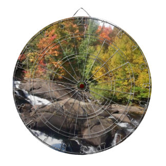 beautiful Adirondack waterfall Dart Board
