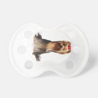 Beautiful adorable dog pacifier