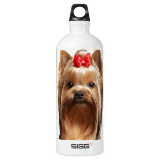 Beautiful adorable dog water bottle