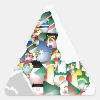 Beautiful Africa Map Sticker
