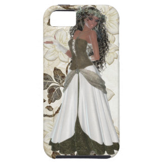 Beautiful African American Girl iPhone 5 Case