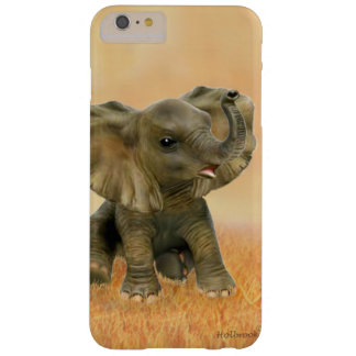 Beautiful African Baby Elephant Barely There iPhone 6 Plus Case