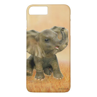 Beautiful African Baby Elephant iPhone 7 Plus Case