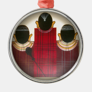 Beautiful African Ethnic Tribal Masai Ornaments.pn Metal Ornament