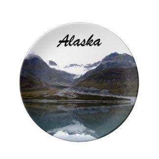 Beautiful Alaska! Porcelain Plate