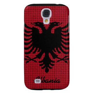Beautiful Albania Flag Samsung Galaxy S4 Cover