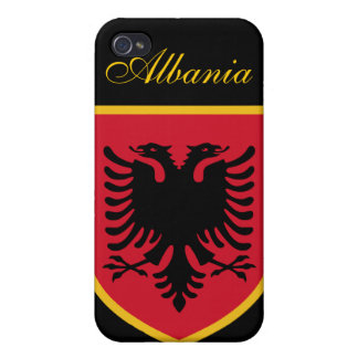 Beautiful Albania Flag iPhone 4/4S Cover
