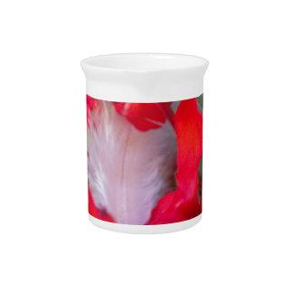 Beautiful Alien Crimson.jpg Beverage Pitcher