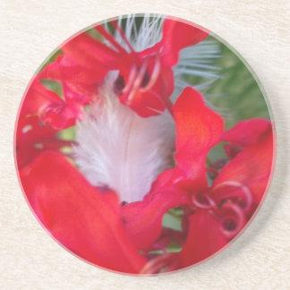 Beautiful Alien Crimson.jpg Drink Coaster