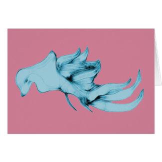 Beautiful Alien Sea Creature Card