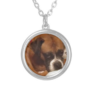 Beautiful Allie Silver Plated Necklace
