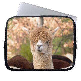 Beautiful Alpaca Laptop Sleeve