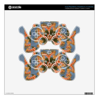 Beautiful amazing African colorful Giraffe blank PS3 Controller Skins
