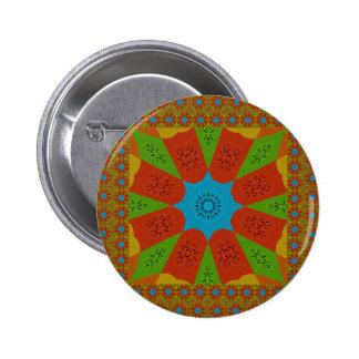 Beautiful Amazing African Feminine Design Colors. Button