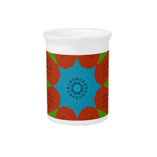 Beautiful Amazing African Feminine Design Colors. Drink Pitcher