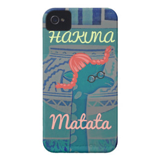 Beautiful amazing cute girly funny giraffe graphic iPhone 4 case
