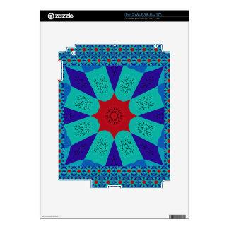 Beautiful Amazing Egyptian  Feminine Design Color Decals For The iPad 2