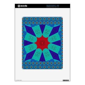 Beautiful Amazing Egyptian  Feminine Design Color iPad Decal