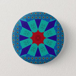 Beautiful Amazing Egyptian  Feminine Design Color Pinback Button