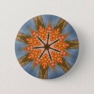 Beautiful amazing feminine African Design animal Pinback Button