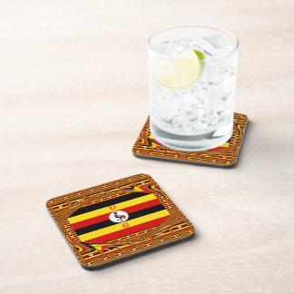 Beautiful amazing Hakuna Matata Lovely Uganda Colo Beverage Coaster