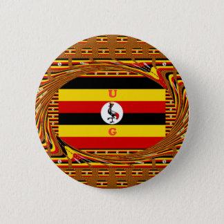 Beautiful amazing Hakuna Matata Lovely Uganda Colo Button