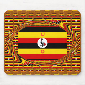 Beautiful amazing Hakuna Matata Lovely Uganda Colo Mouse Pad