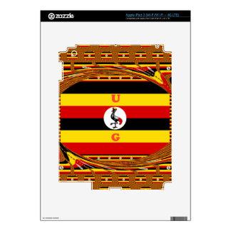 Beautiful amazing Hakuna Matata Lovely Uganda Colo Skin For iPad 3