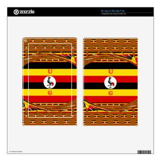 Beautiful amazing Hakuna Matata Lovely Uganda Colo Skins For Kindle Fire