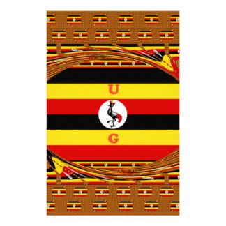 Beautiful amazing Hakuna Matata Lovely Uganda Colo Stationery