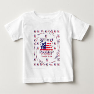 Beautiful Amazing Hillary USA Election Flag Color T-shirt