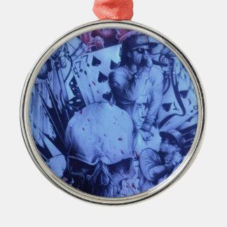 Beautiful amazing online Skeezers artistic product Metal Ornament