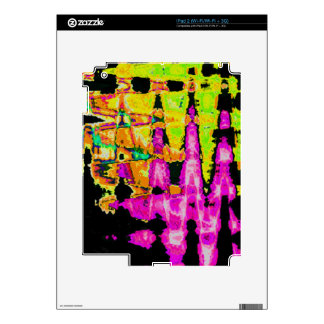 Beautiful Amazing  water colors pattern Skins For iPad 2