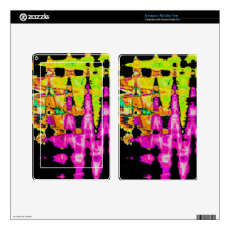 Beautiful Amazing  water colors pattern Skins For Kindle Fire