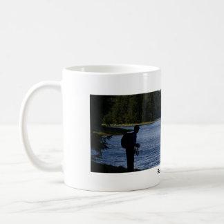 Beautiful America: Alaska River Classic White Coffee Mug