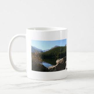 Beautiful America: Fall in the Rocky Mountains Classic White Coffee Mug