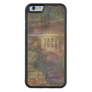 Beautiful America - Land of the Free Carved Maple iPhone 6 Bumper Case