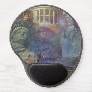 Beautiful America - Land of the Free Gel Mouse Pad